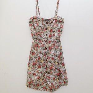 🍍 4/$25 Button Down Floral Mini Dress